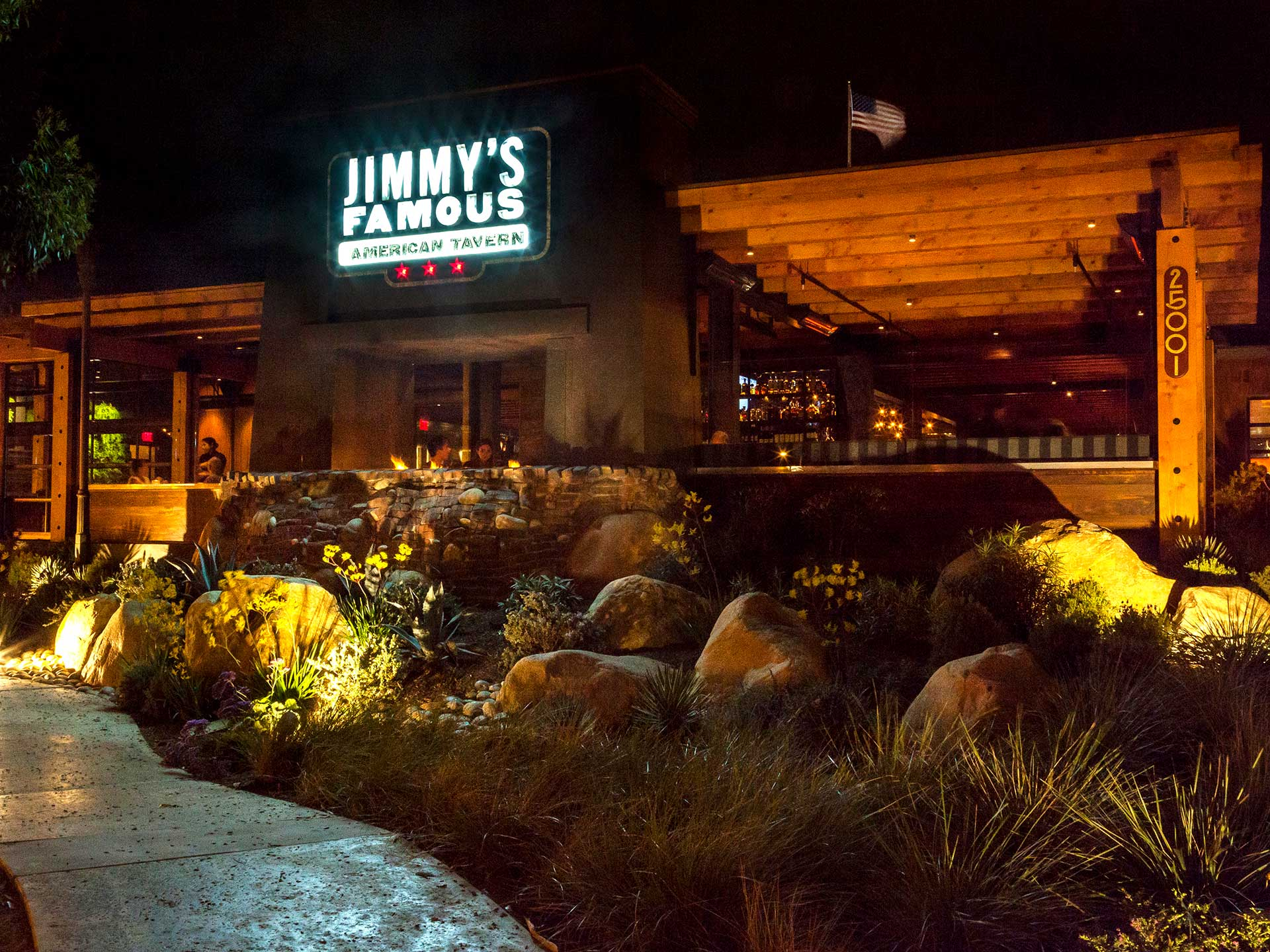 Jimmy's Dana Point offers an indoor/outdoor experience at Dana Wharf